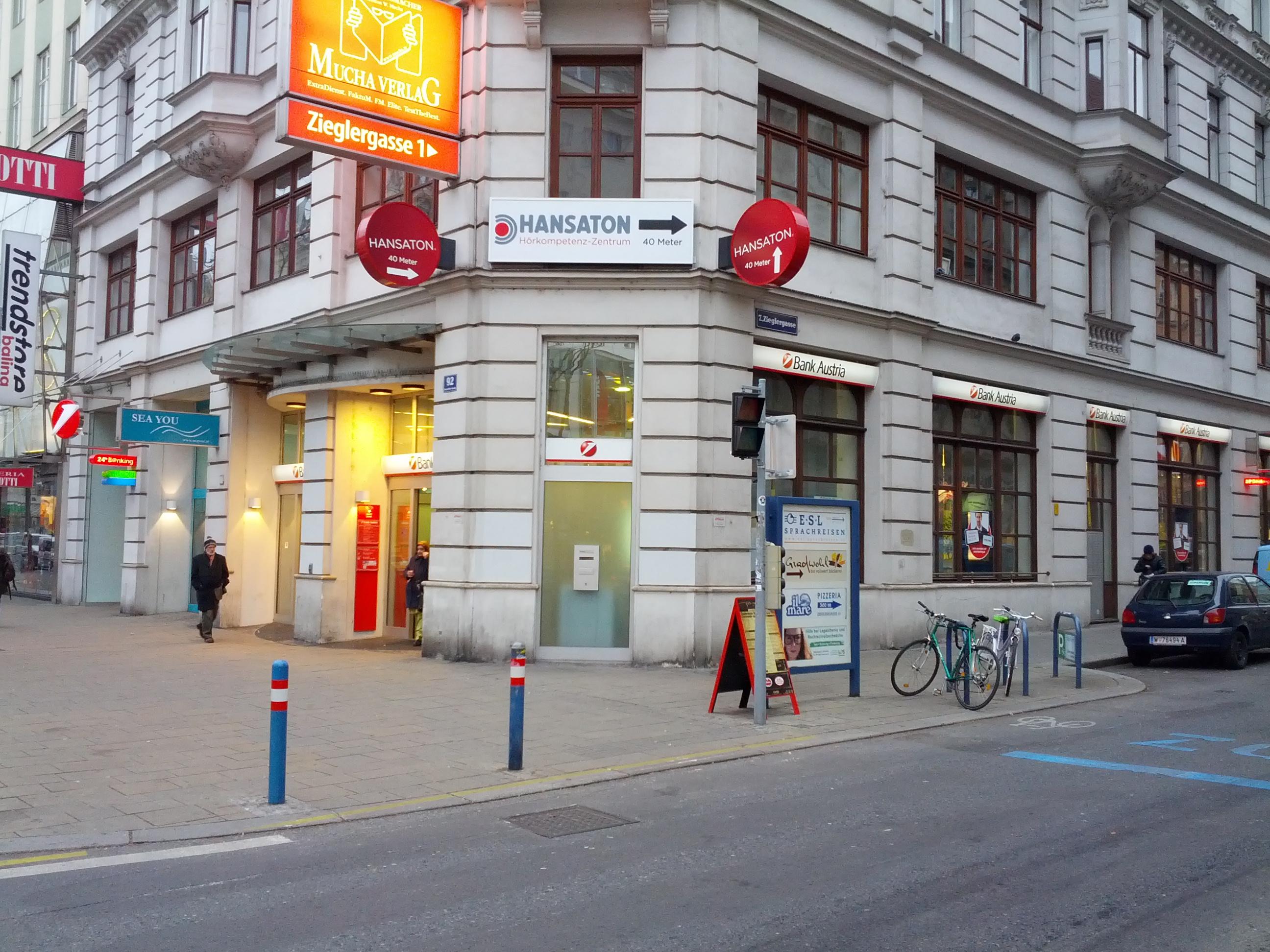 Bank Austria Schwendermarkt Wien Unicredit Bic Bkauatww Blz