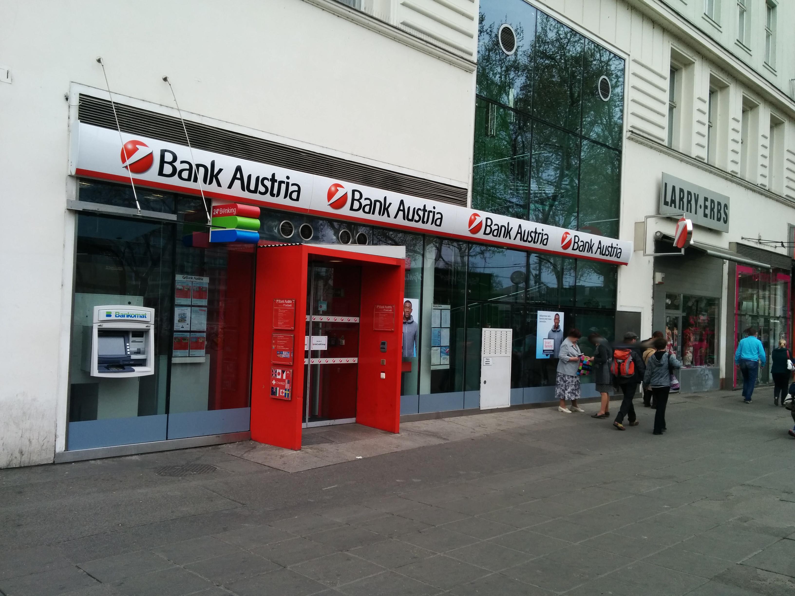 Bank Austria Schwedenplatz Wien Unicredit Bic Bkauatww Blz
