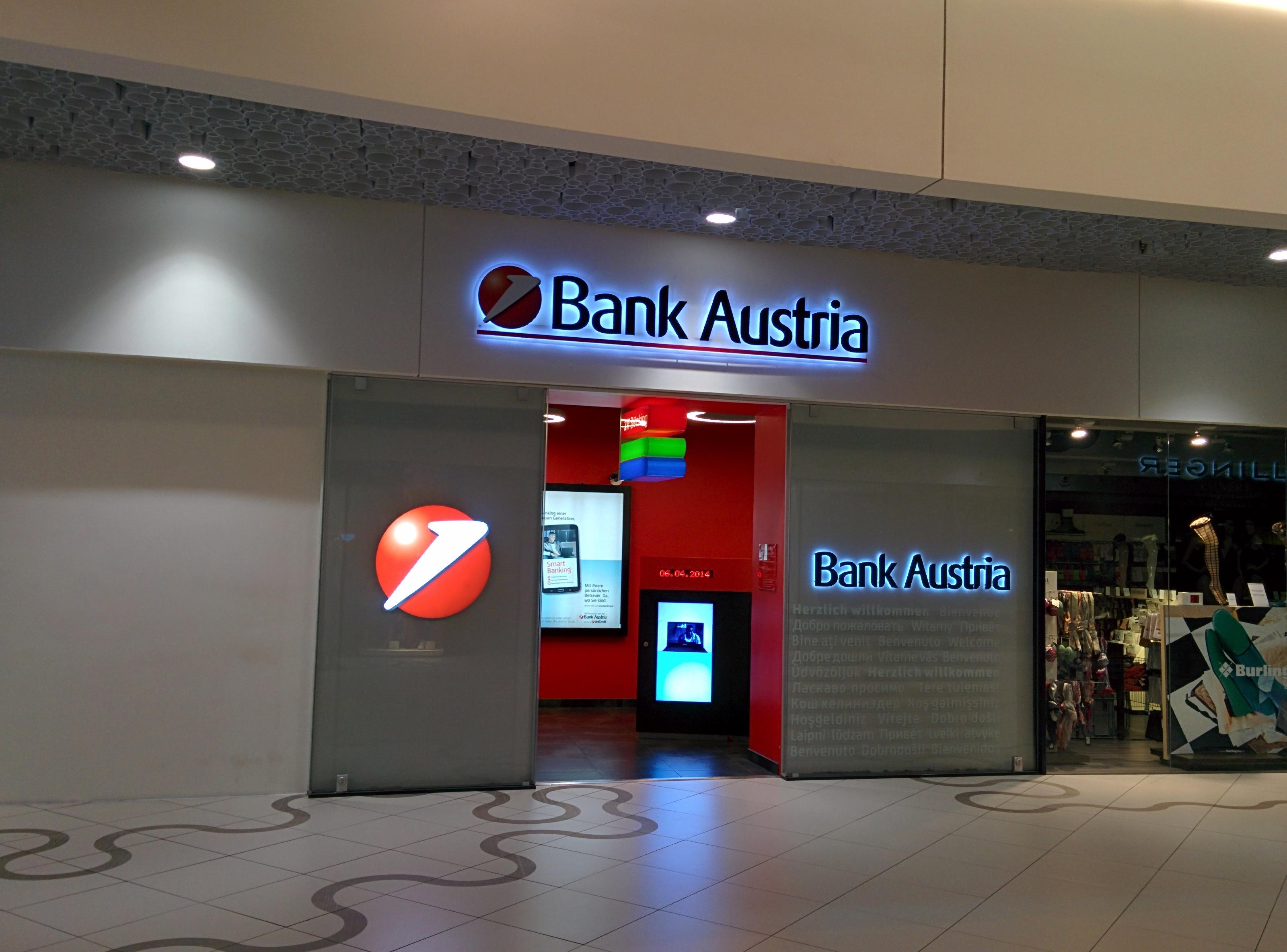 Bank Austria Wien Mitte Unicredit Bic Bkauatww Blz 12000