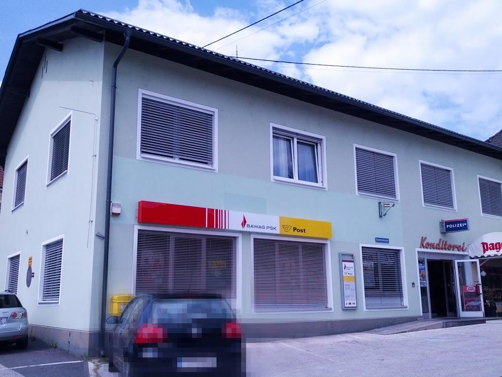 BAWAG P.S.K. Bank für Arbeit und Wirtschaft und Österreichische Postsparkasse AG Filiale Eberndorf (Postservice)