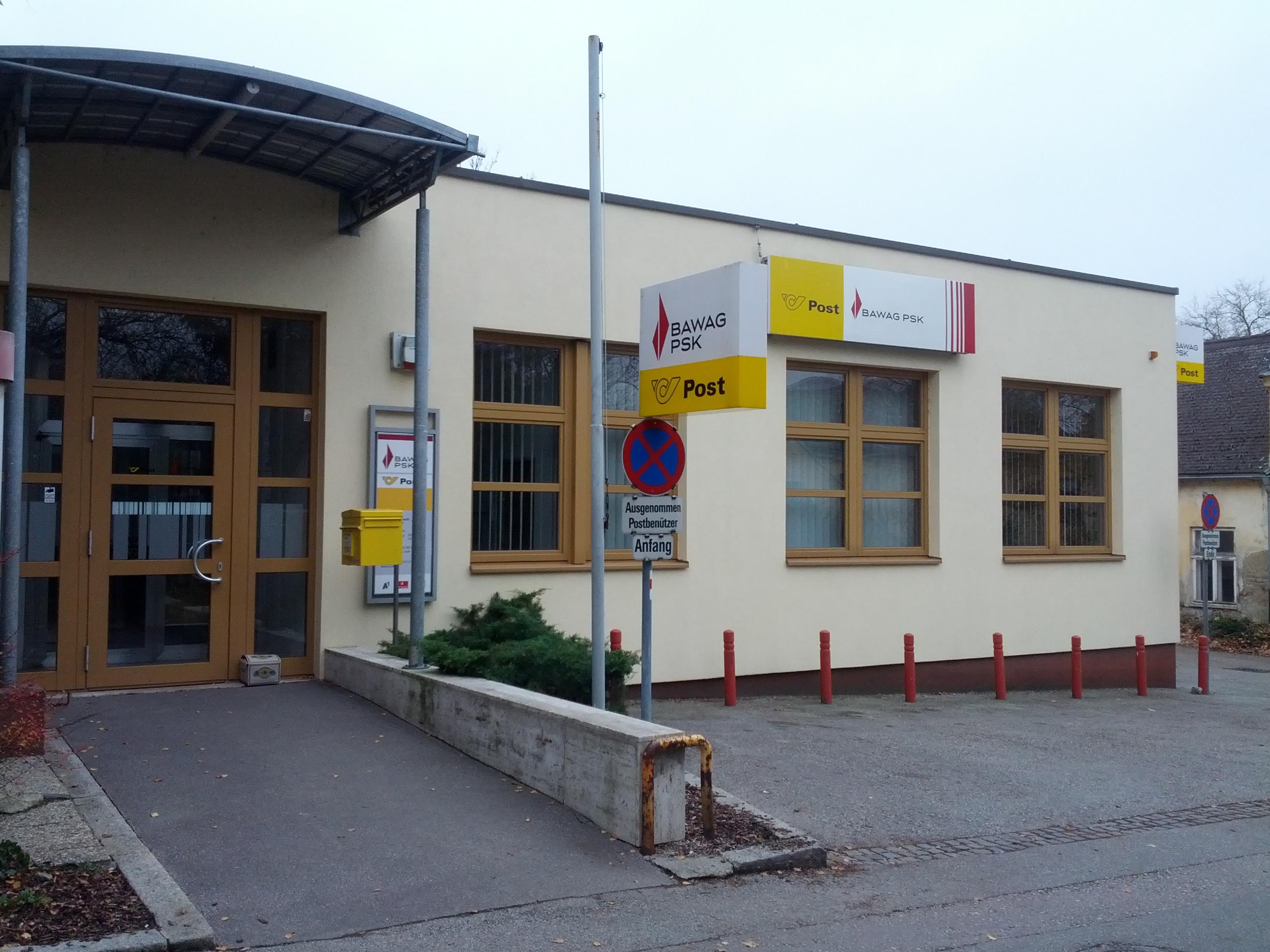 BAWAG P.S.K. Bank für Arbeit und Wirtschaft und Österreichische Postsparkasse AG Filiale Neulengbach (Postservice)