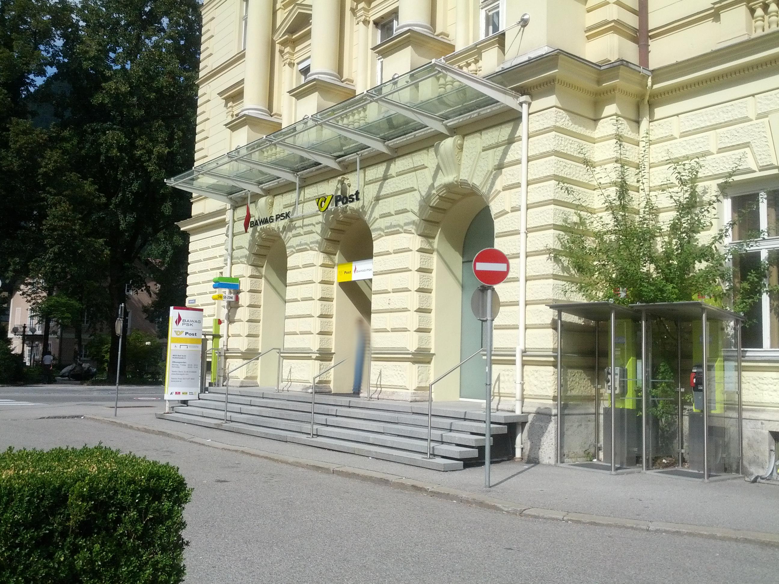 BAWAG P.S.K. Bank für Arbeit und Wirtschaft und Österreichische Postsparkasse AG Filiale Bad Ischl (Postservice)