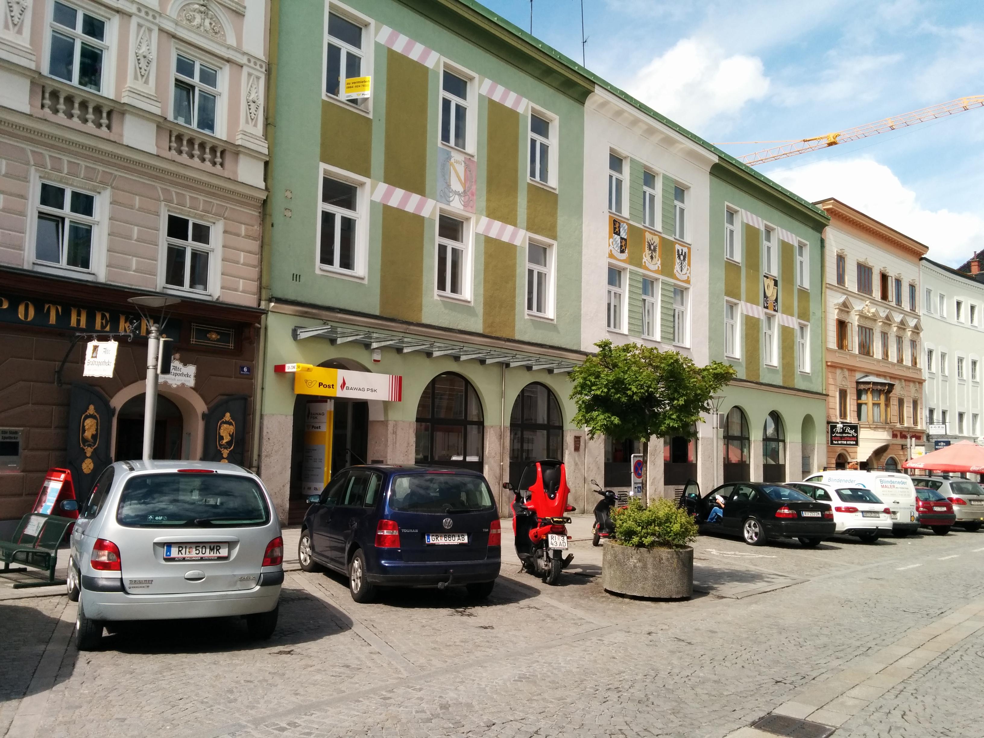 BAWAG P. S. K. Bank für Arbeit und Wirtschaft und Österreichische Postsparkasse AG Filiale Ried im Innkreis