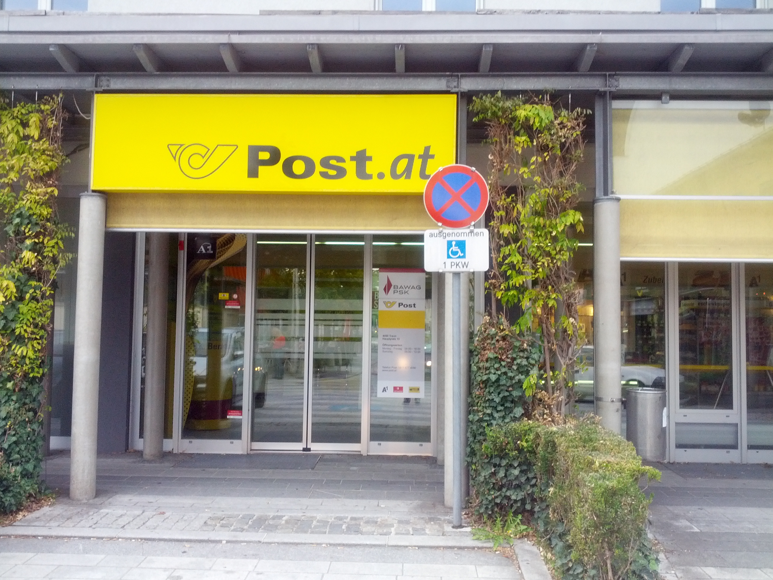 BAWAG P. S. K. Bank für Arbeit und Wirtschaft und Österreichische Postsparkasse AG Filiale Traun