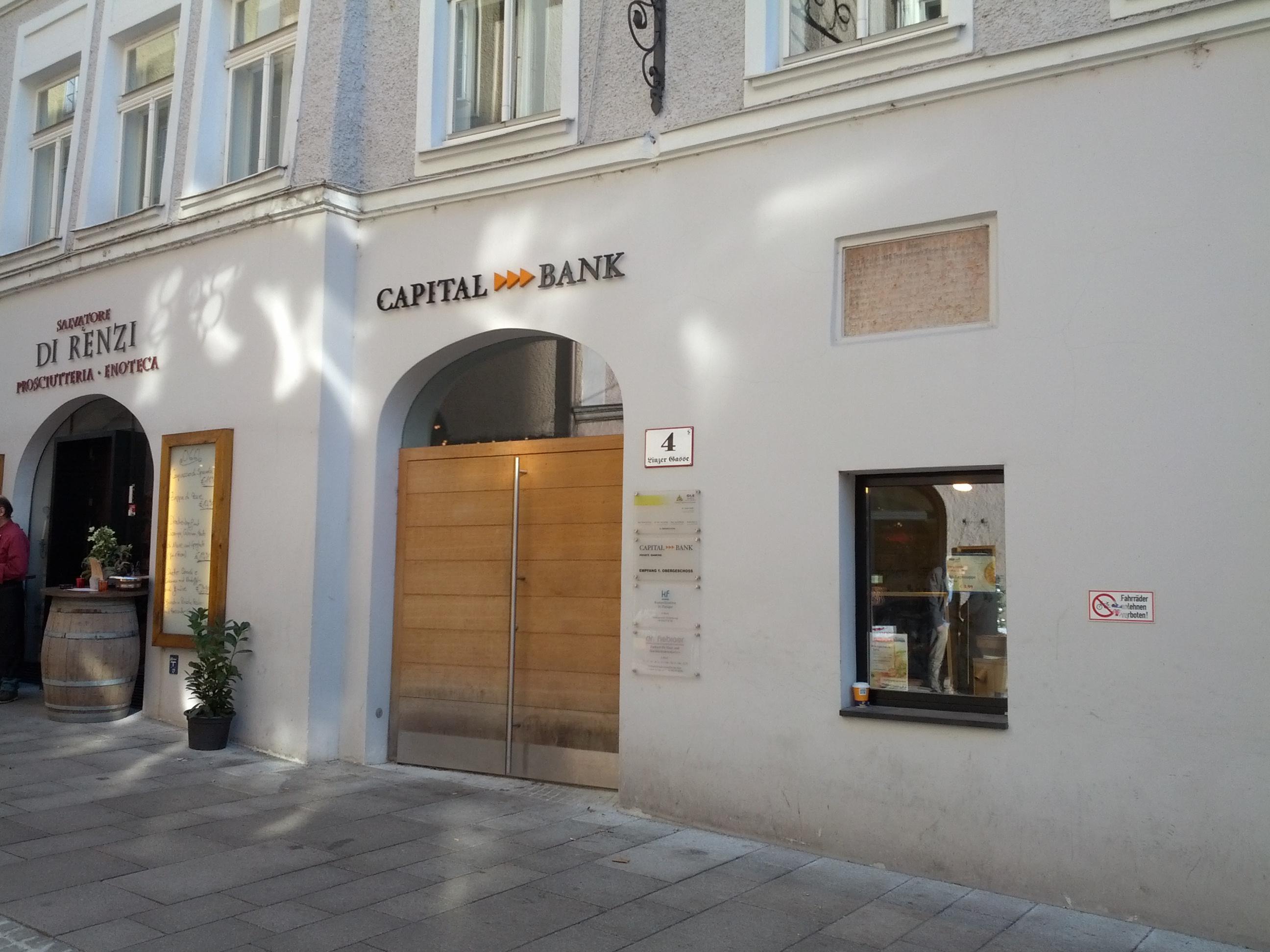 CAPITAL BANK - GRAWE GRUPPE AG Fil. Salzburg
