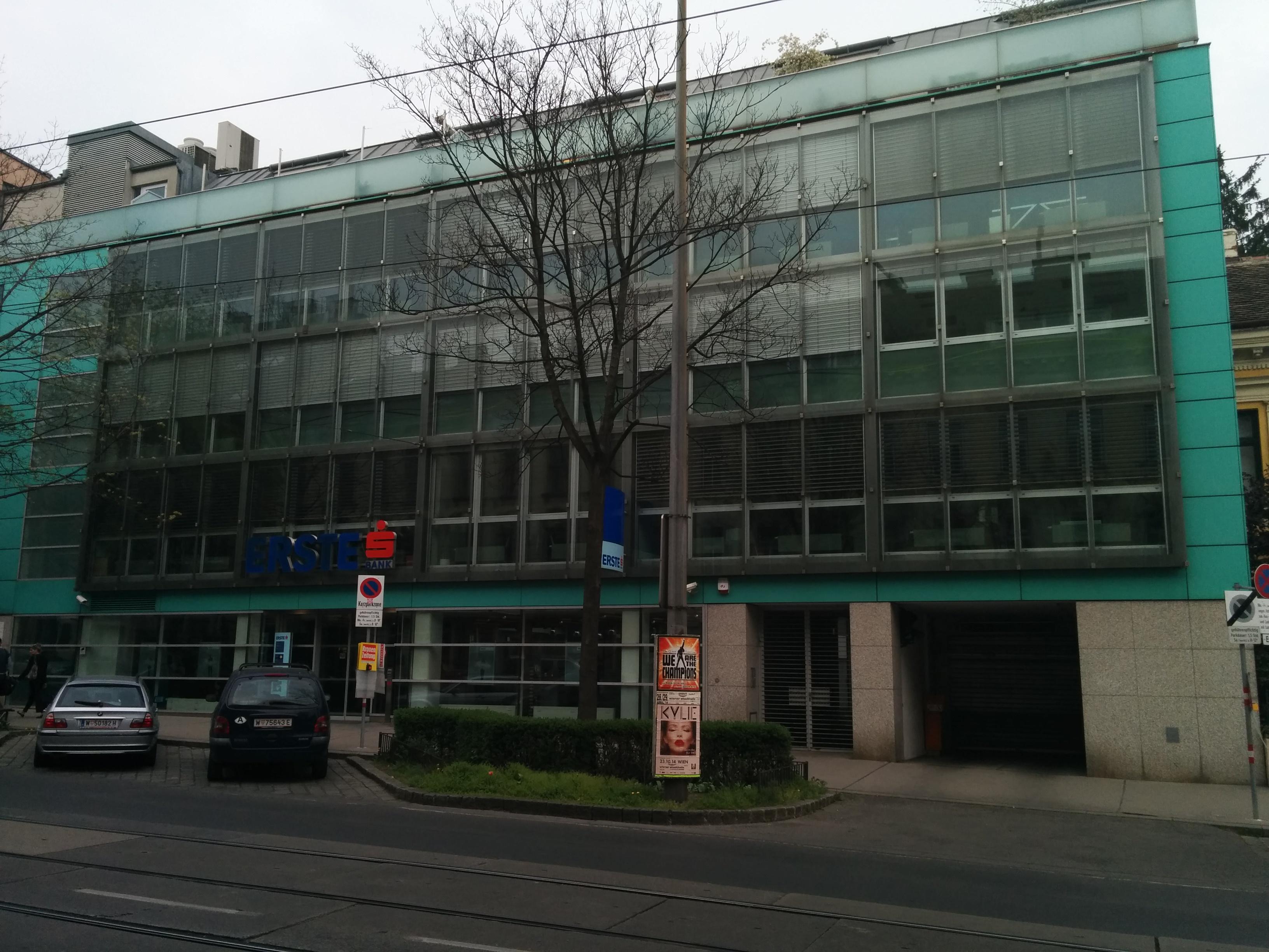 Erste Bank der oesterreichischen Sparkassen AG Zws. Gersthof