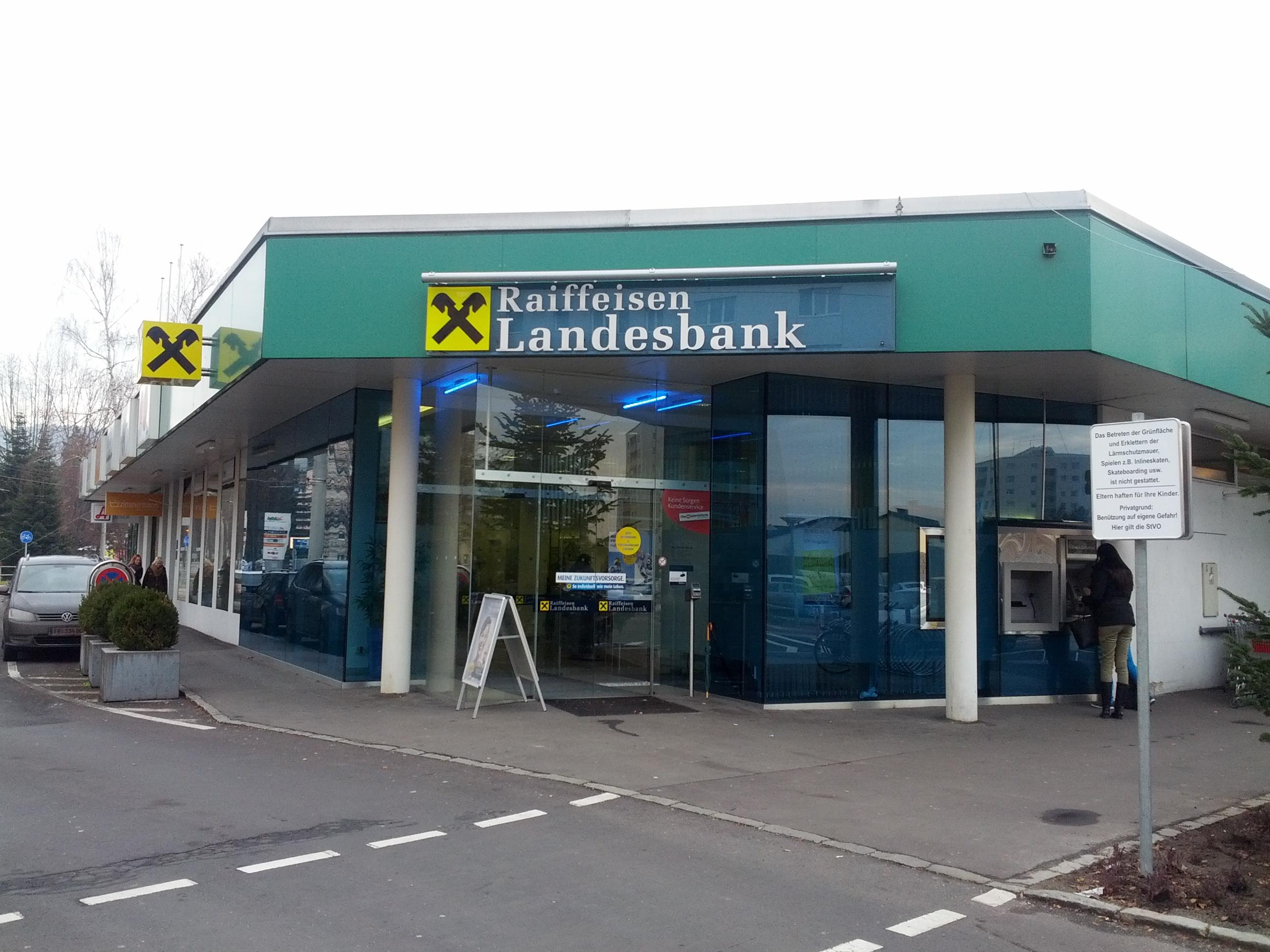 Raiffeisenlandesbank Oberösterreich AG Zws. Auhof