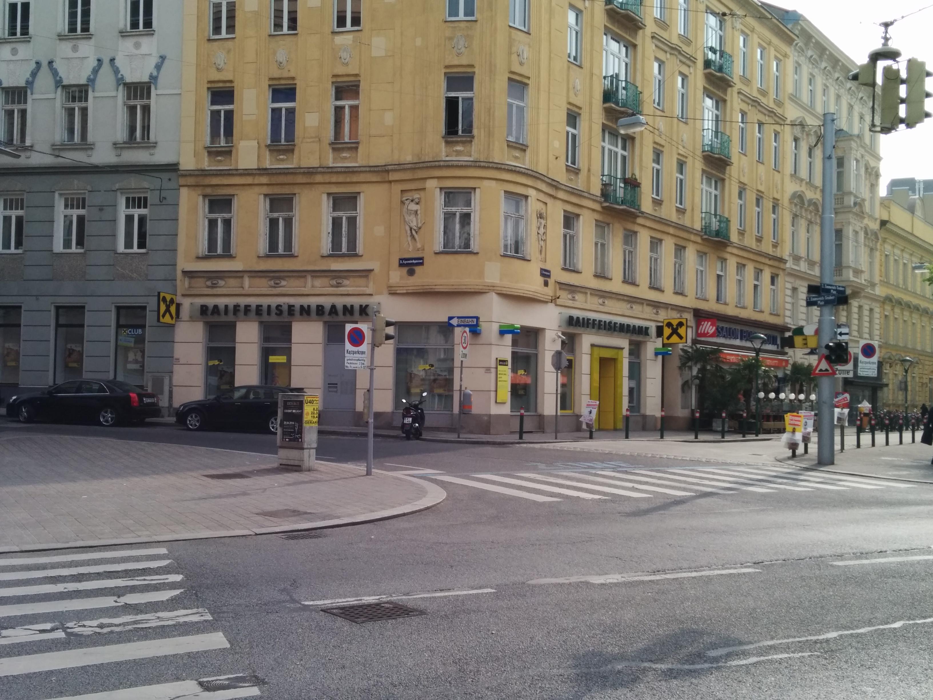 RAIFFEISENLANDESBANK NIEDERÖSTERREICH-WIEN AG Zws. Baumgasse