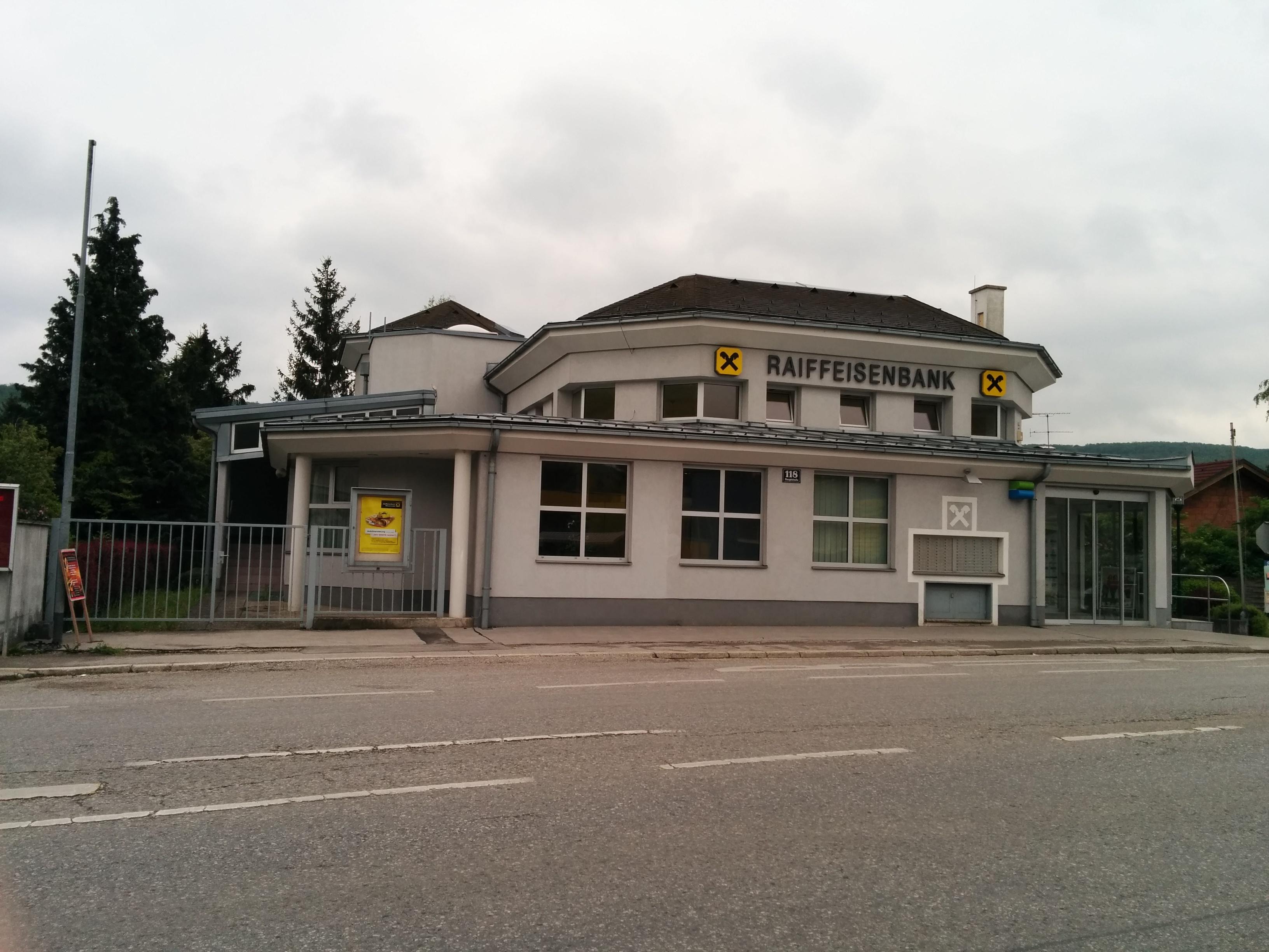 Raiffeisenbank Wienerwald reg. Gen. m. b. H. Zws. Breitenfurt
