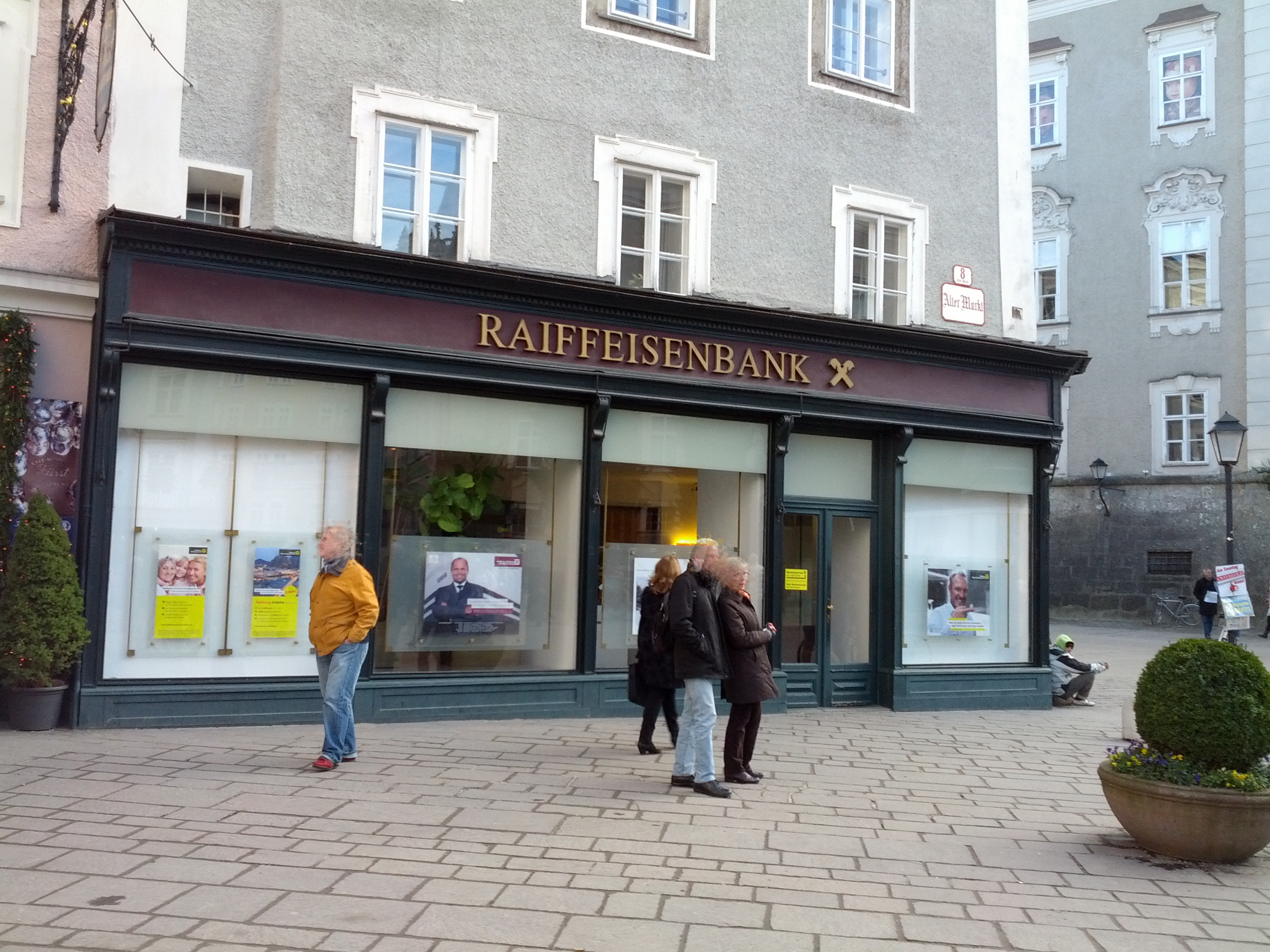 Raiffeisenverband Salzburg reg. Gen. m. b. H. Fil. Altstadt
