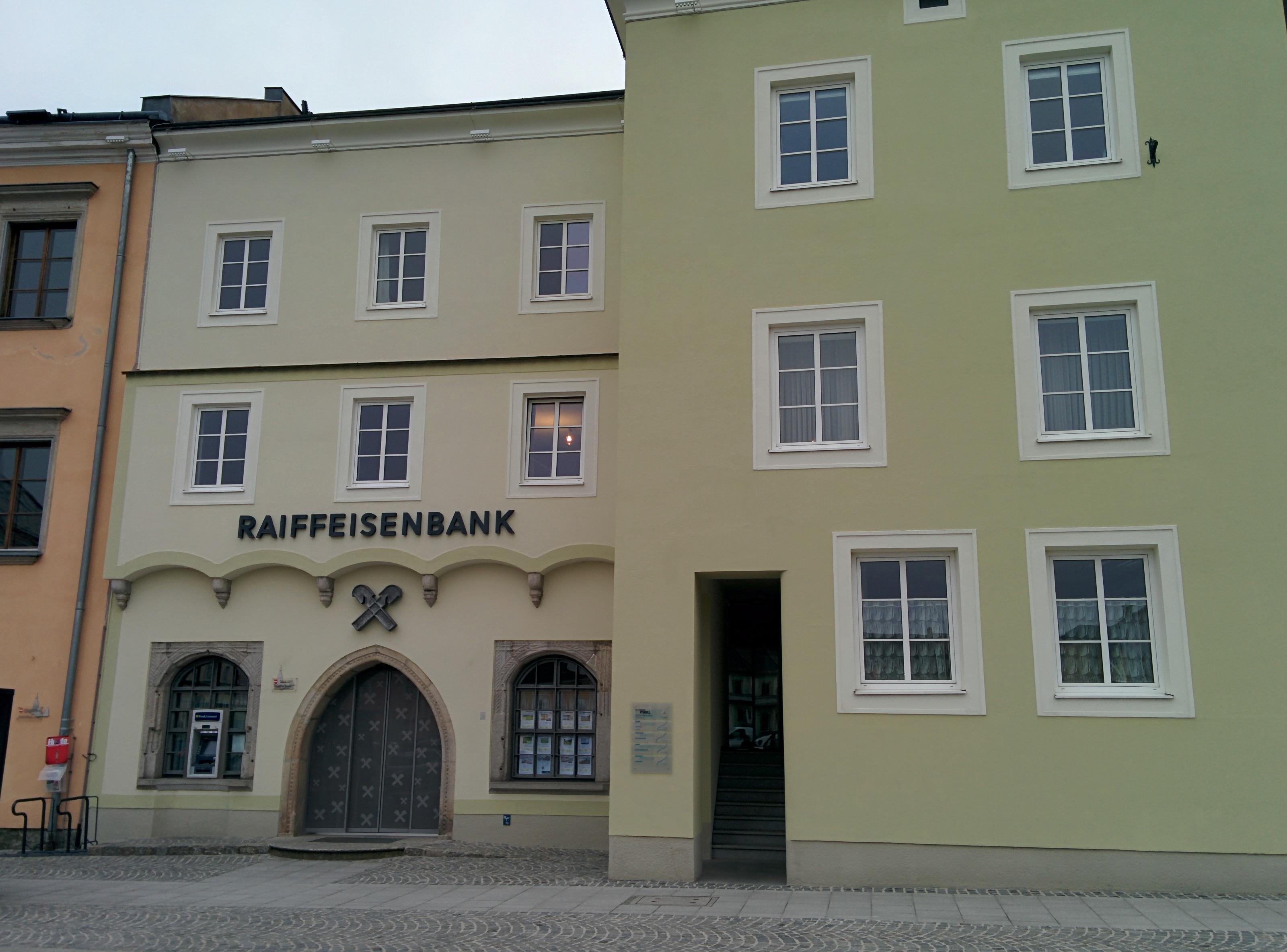 Raiffeisenbank Region Freistadt reg. Gen. m. b. H. Zws. Hauptplatz