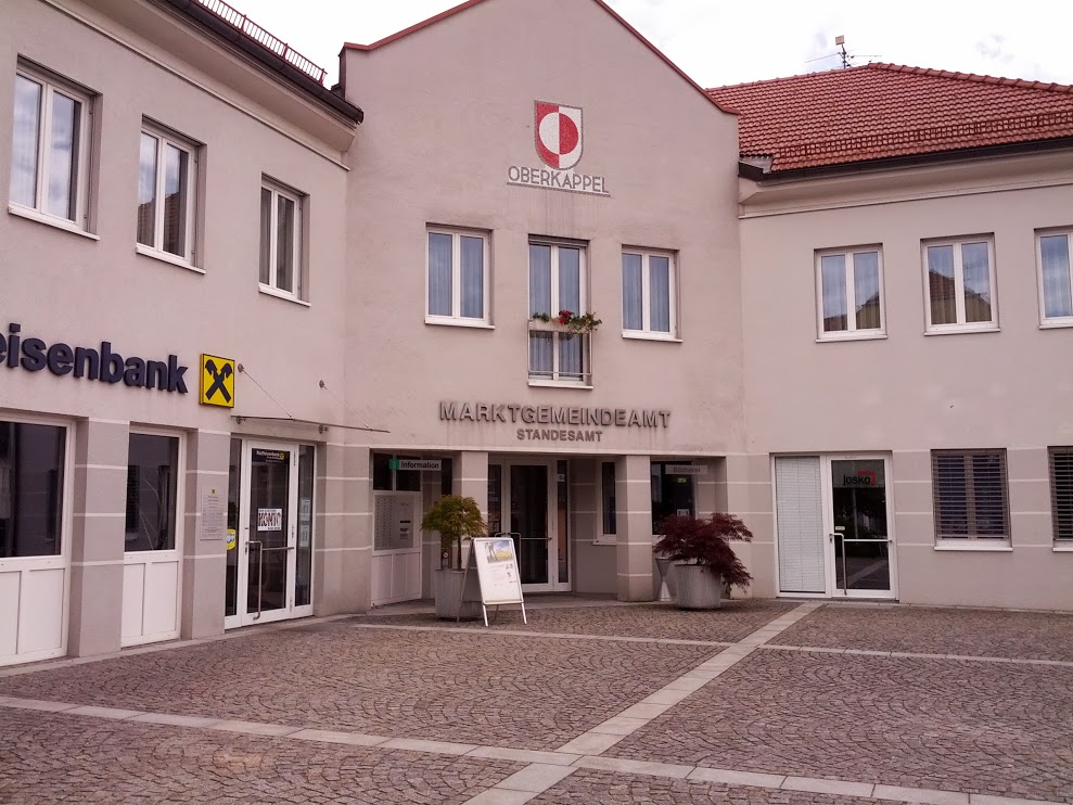 Raiffeisenbank Donau-Ameisberg reg. Gen. m. b. H. Fil. Oberkappel