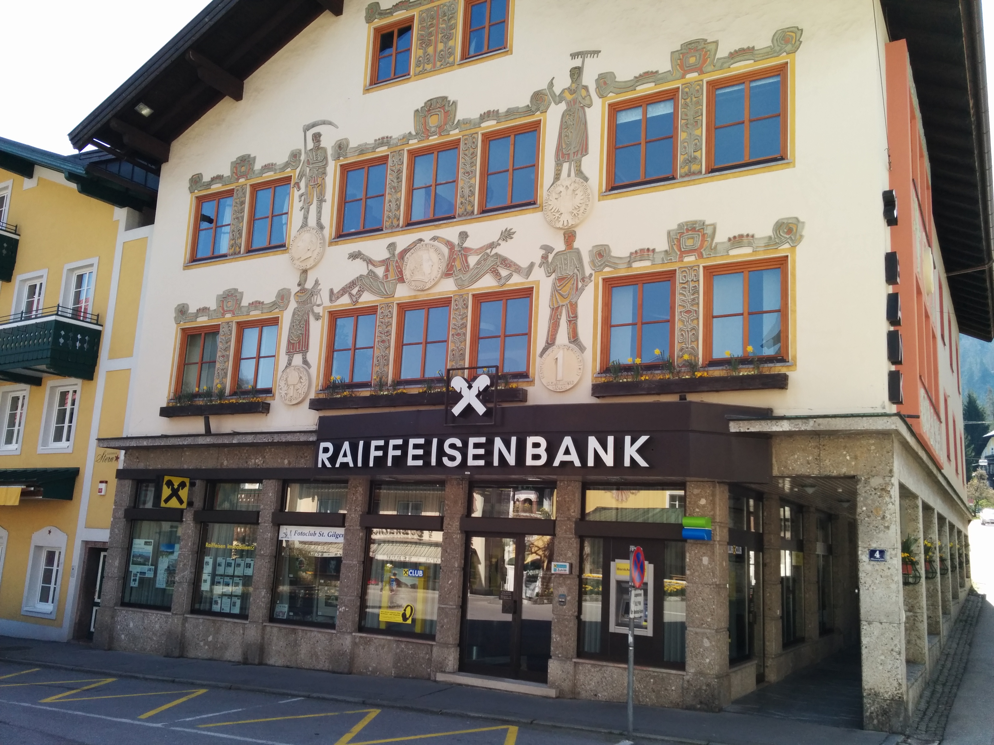 Raiffeisenbank St. Gilgen-Fuschl-Strobl reg. Gen. m. b. H.