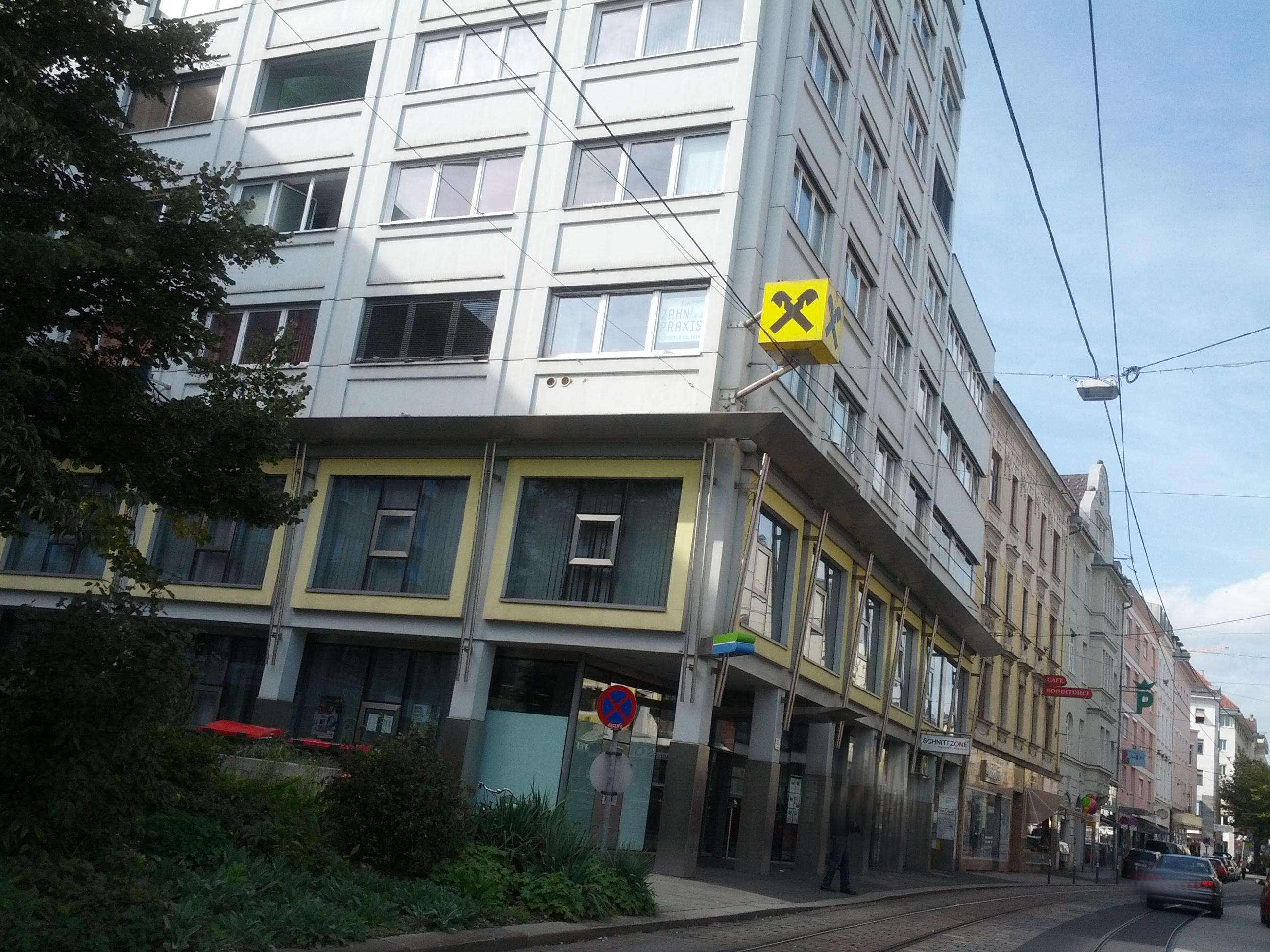 Raiffeisenlandesbank Oberösterreich AG Zws. Kompetenzcenter Urfahr