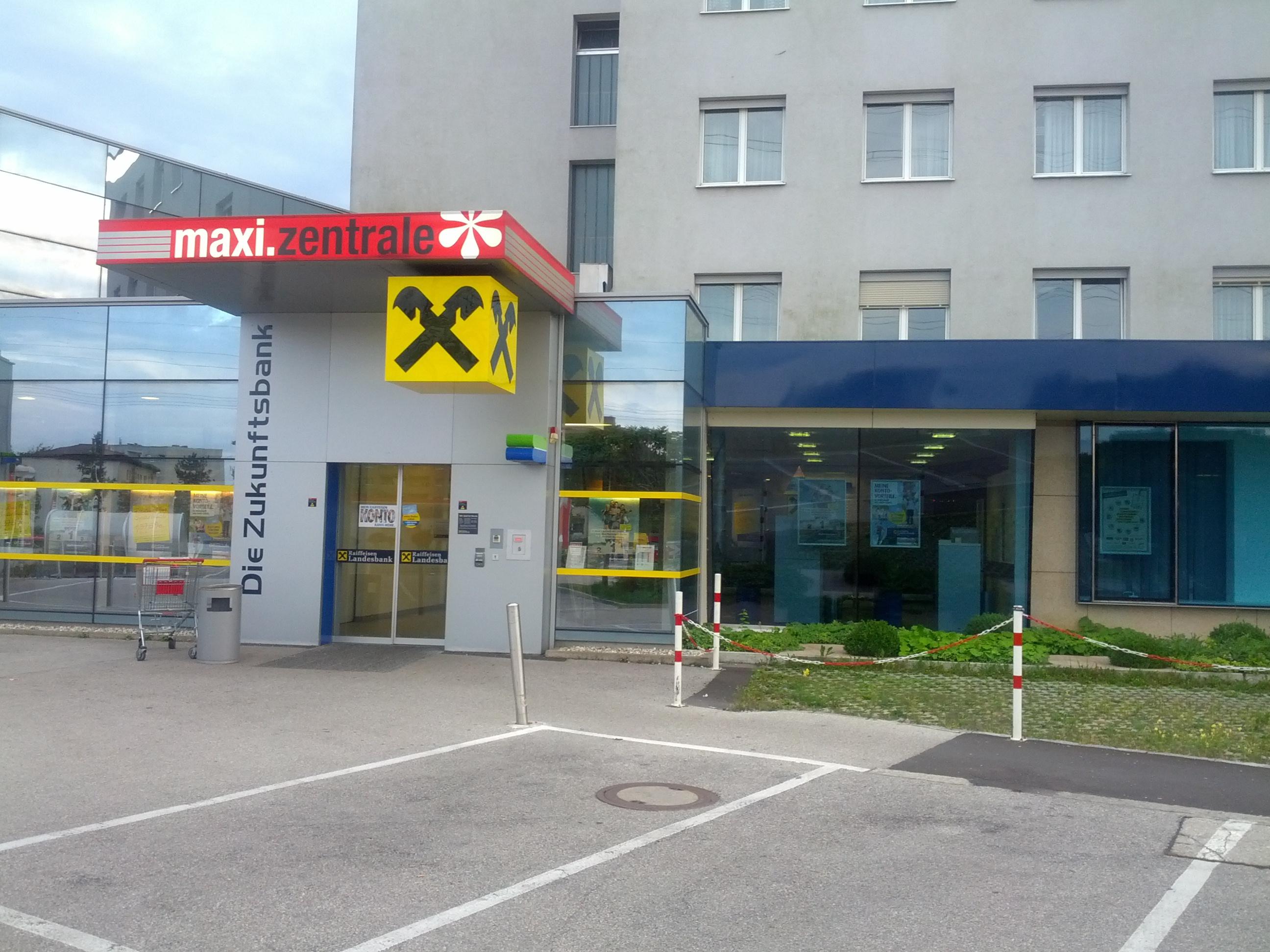 Raiffeisenlandesbank Oberösterreich AG Zws. Maximarkt