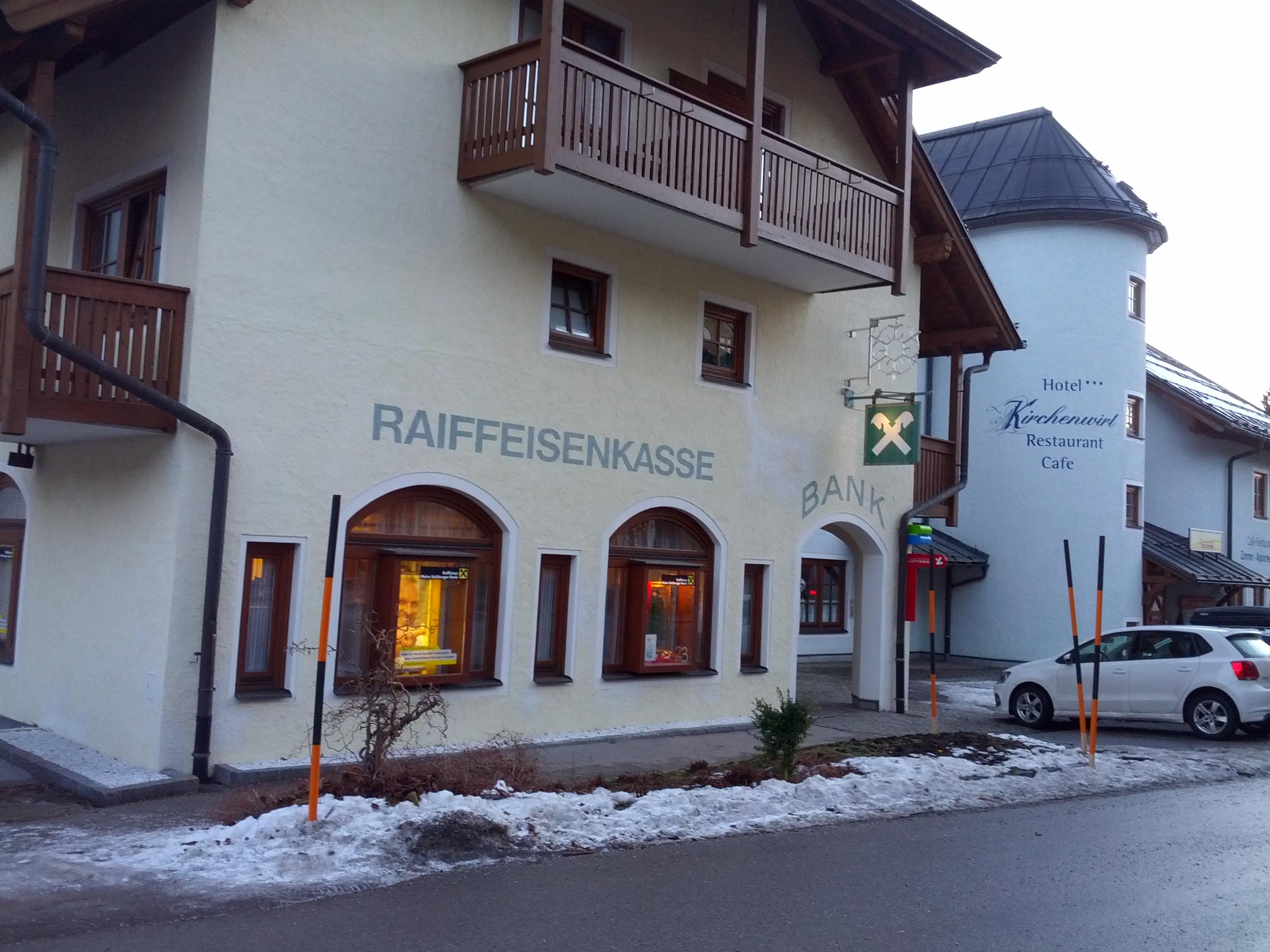 Raiffeisenbank Abtenau-Rußbach reg. Gen. m. b. H. Zws. Rußbach am Paß Gschütt