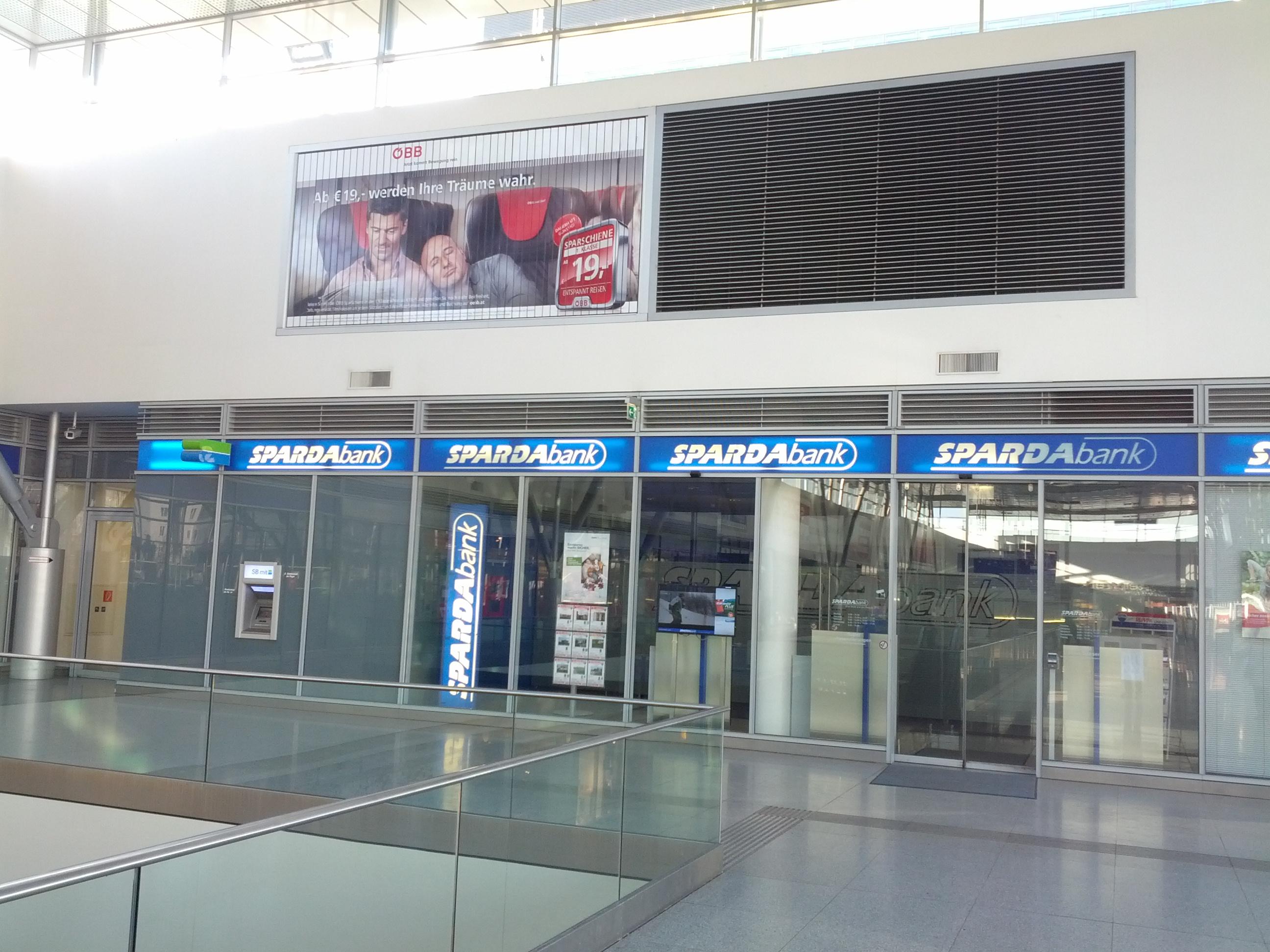 SPARDA-BANK AUSTRIA eGen Zws. Hauptbahnhof-Linz