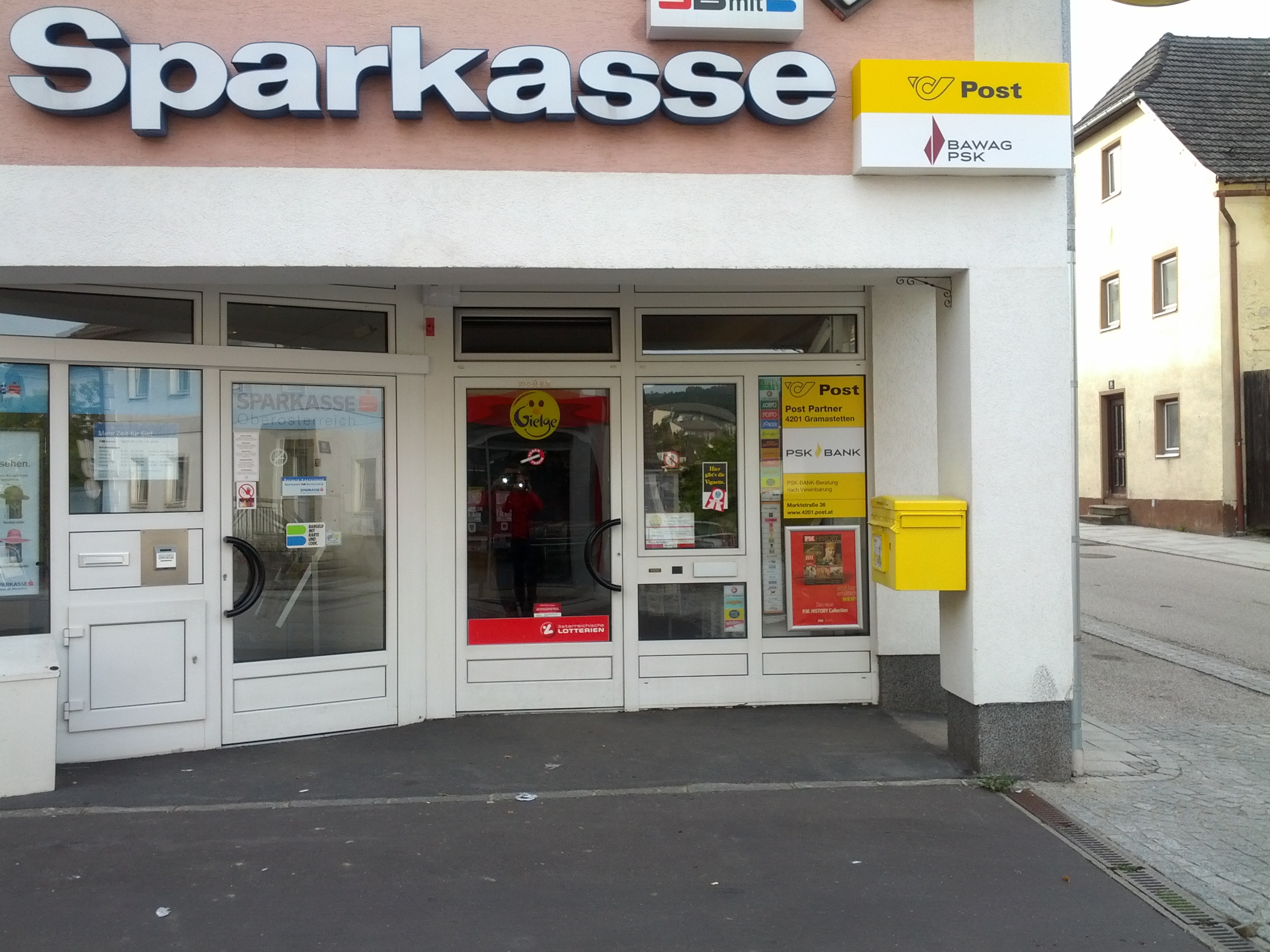 Allgemeine Sparkasse Oberösterreich BankAG Gest. Gramastetten