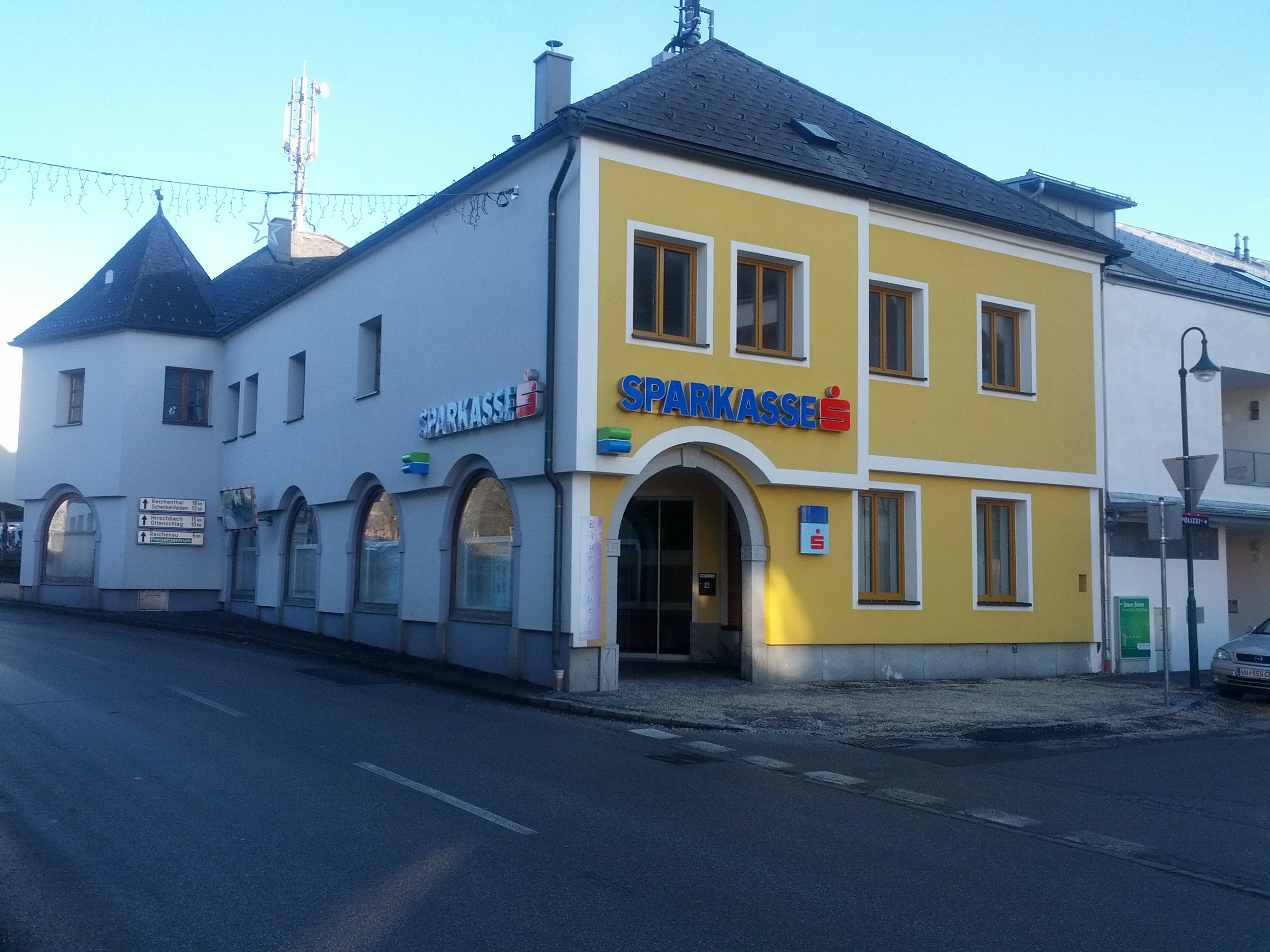Allgemeine Sparkasse Oberösterreich BankAG Gest. Hellmonsödt