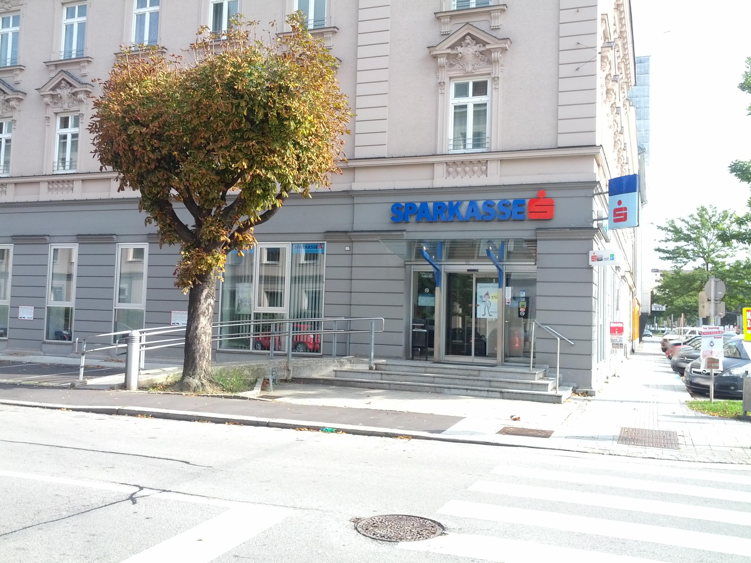 Allgemeine Sparkasse Oberösterreich BankAG Gest. Wienerstraße