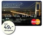 Garantie Finanz Prepaid Mastercard