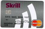 Skrill MasterCard Prepaidkarte