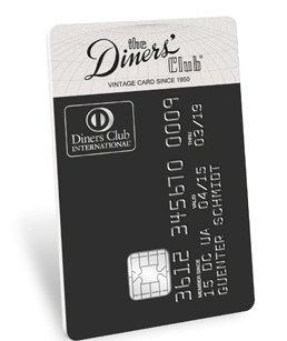 diners club vintage kreditkarte bankkonditionen. Black Bedroom Furniture Sets. Home Design Ideas