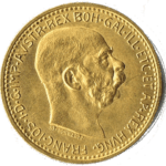 10 Kronen Goldmünze