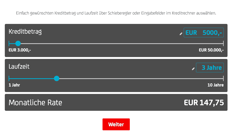 Bank Austria Kredit Bankkonditionenat